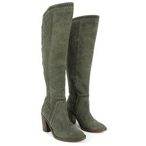 Vince Camuto Womens Madolee Knee High Boots 6.5